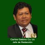 41. Jefe de Redaccion Carlos Gabino Cu Uc.jpg