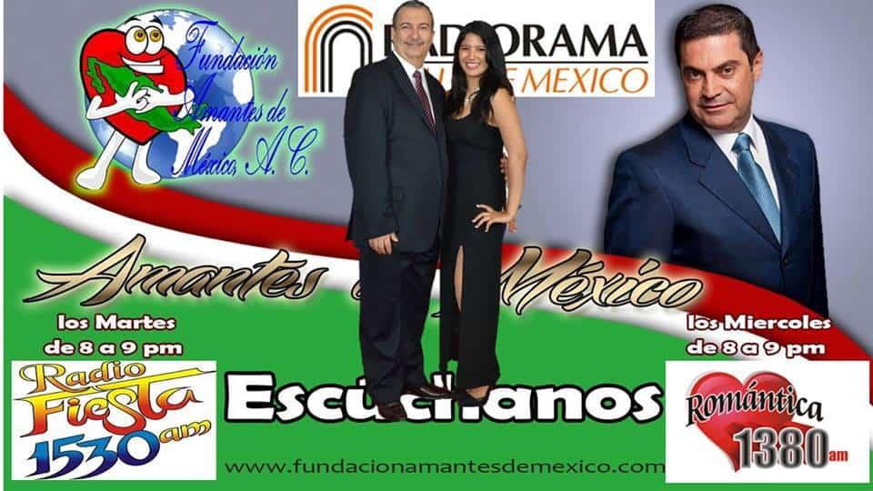 Programa en Vivo - Amantes de México - Radio Fiesta 1530AM