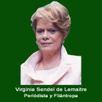 14. Periodista y Filantropa Virginia Sendel .jpg