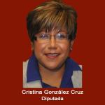 7. Diputada Cristina Gonzalez .jpg