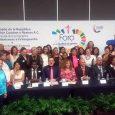 Participando en el Foro Mundial de la Igualdad de Género en el Senado de la República